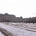 3/7 Belveder Palace 上宮上午是背光的