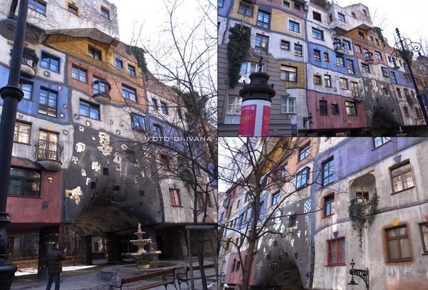 3/8 百水公寓的外面,那些窗戶和分割線都是漆的