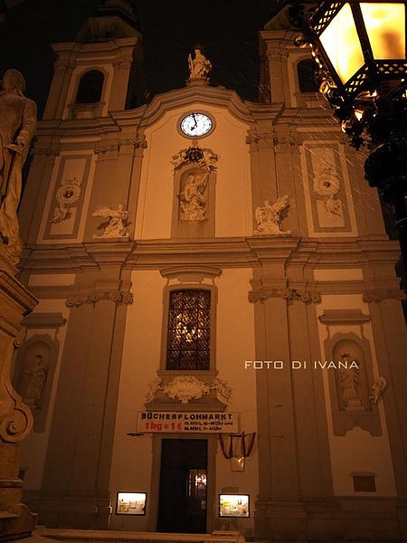 3/6 Vienna 注意一下燈旁的風雪