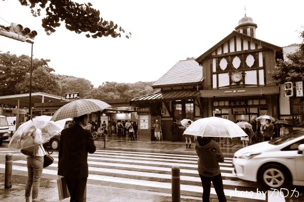 08-1日本東京原宿車站suica卡