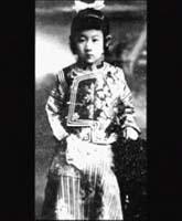 童年的川島芳子
