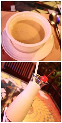 特選濃湯&蛋蜜汁