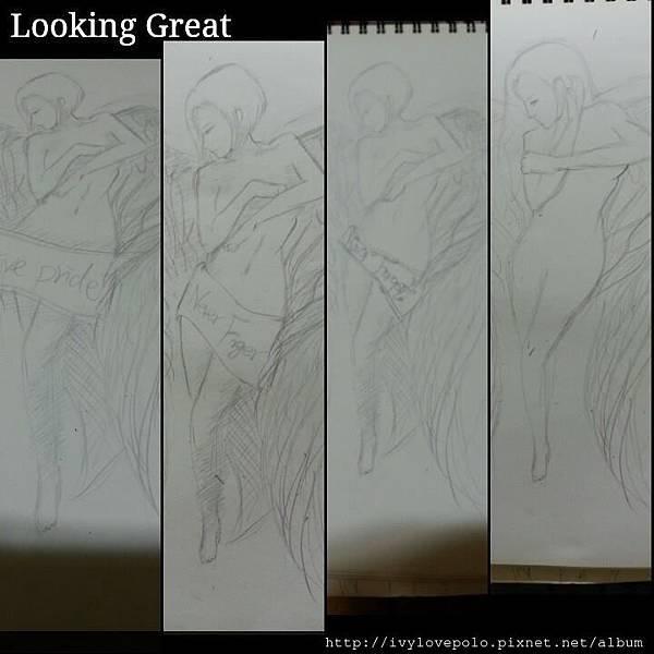 刺青圖案設計草稿,手繪