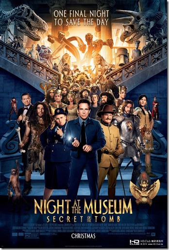 Night at the Museum 3 海報