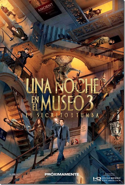 Night at the Museum 3 海報2