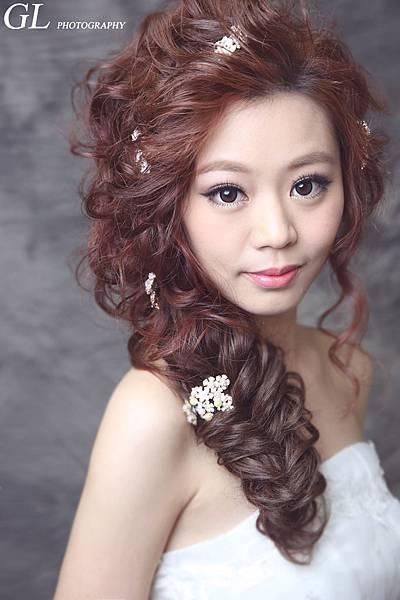 新娘彩妝髮型教學