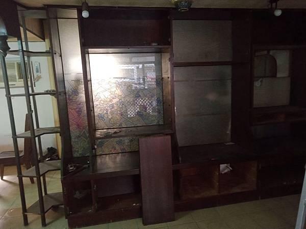 電視櫃拆除