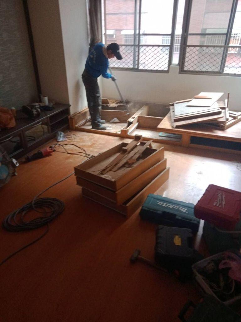 和式房間拆除
