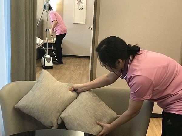 房間清潔消毒