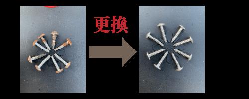 拆解洗衣機時更換螺絲