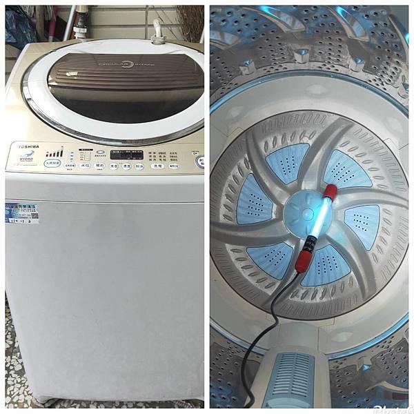 洗衣機紫外線消毒