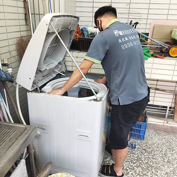 台中清洗洗衣機專員