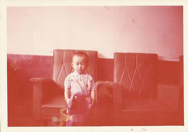 三歲時的耗呆樣