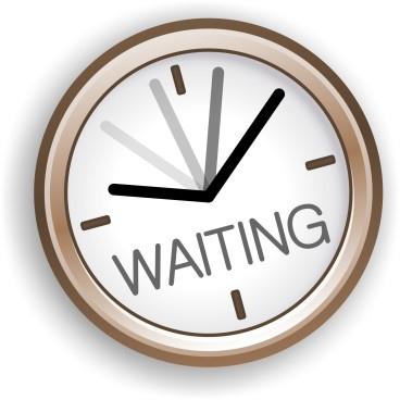 waiting-clock