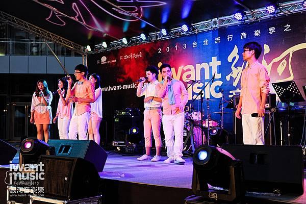 2013銀河音樂聚_斑馬線Popphone Singers