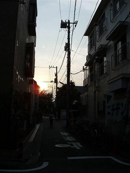 下北澤<夕陽