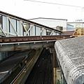 下北澤<鏽但是不覺得髒的車站屋頂