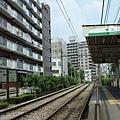 向原<五隻站過的向原車站