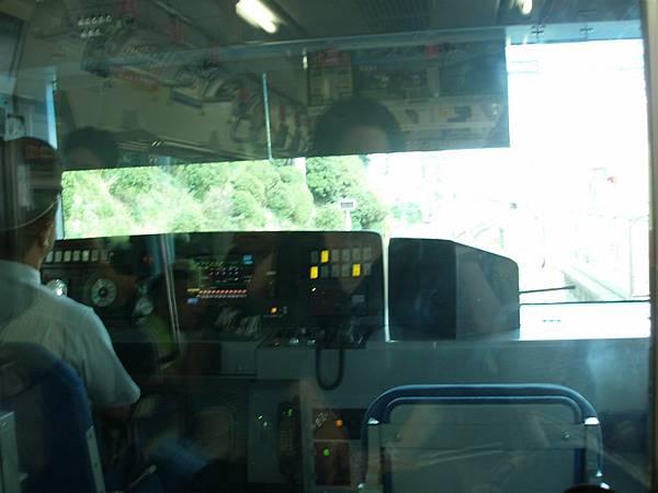 要去SKYLINER的山手線上,最前列車廂