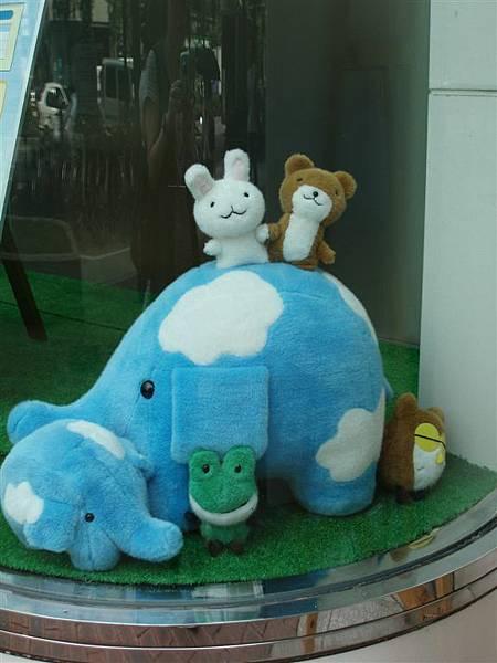 回池袋的路上<藍色大象和朋友們