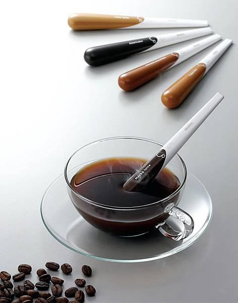 咖啡攪拌棒設計 | Maxim