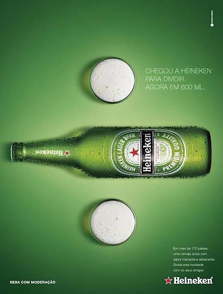 Heineken Poster Design