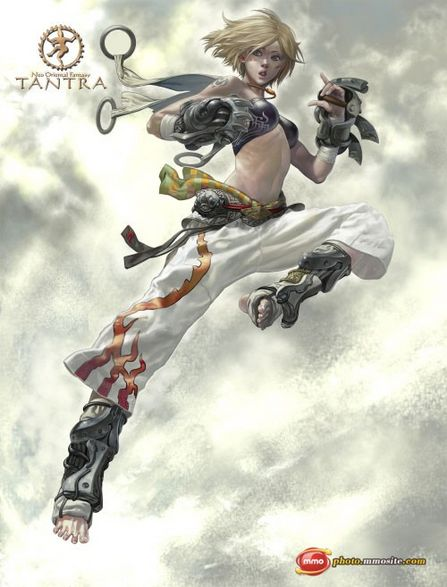 Tantra MMORPG Character Illustration