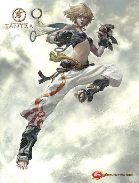 Tantra MMORPG Character Illustration