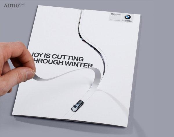 BMW Leaflet Design