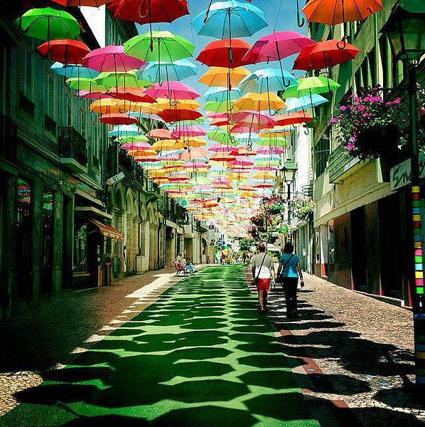 Umbrellas Agueda Portugal