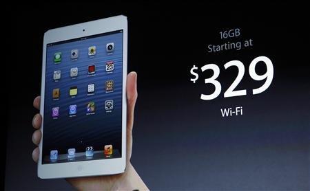 7.9吋iPad mini售329美元起