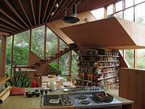 Architecture / Walstrom House by John Lautner