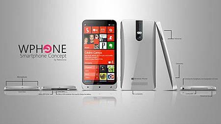 多弧面設計 微軟Surface Phone概念圖曝光