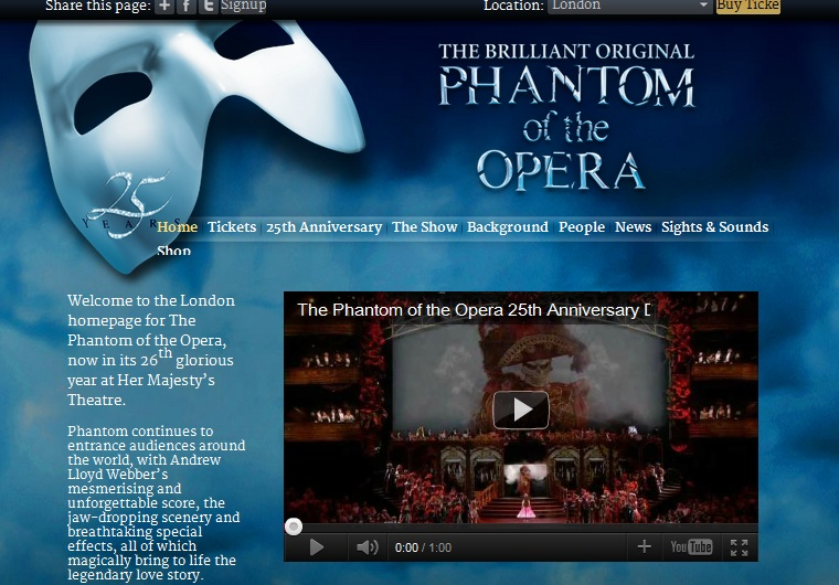 25th Anniversary THE PHANTOM OF THE OPERA at THE ROYAL ALBERT HALL