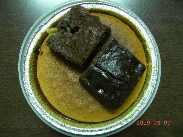 焦糖布丁蛋糕1