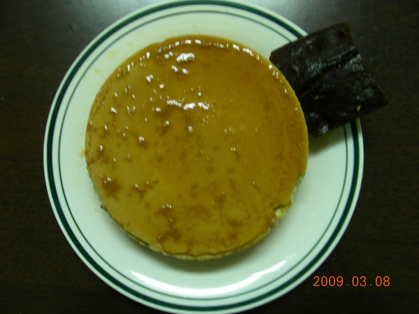 焦糖布丁蛋糕2