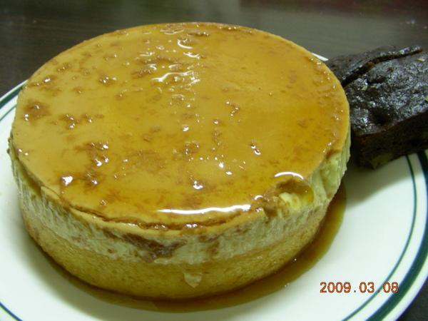 焦糖布丁蛋糕5
