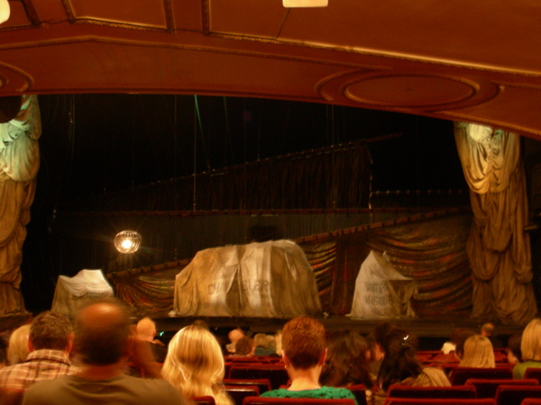 in the theatre-stage