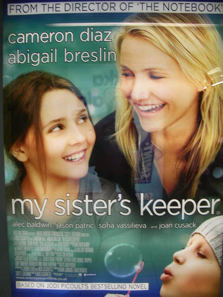 My sister's keeper Ads