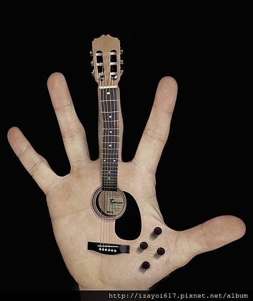 palm guitar