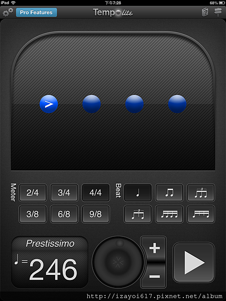 tempo for iPad