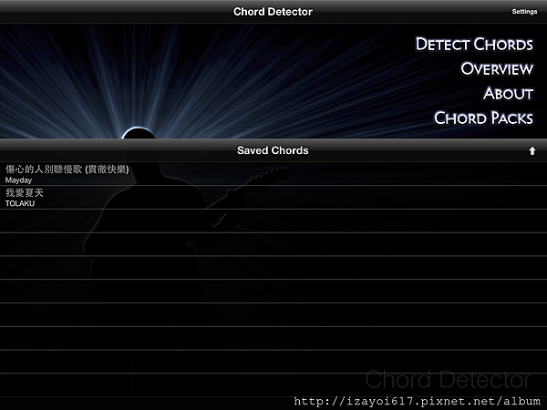 chord detect interface