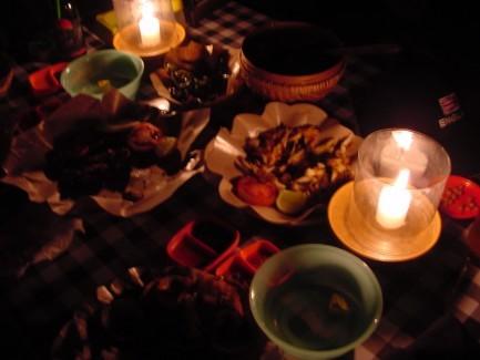 金巴蘭浪漫海鮮晚餐