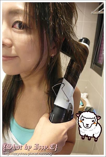 上電棒技巧 捲髮技巧