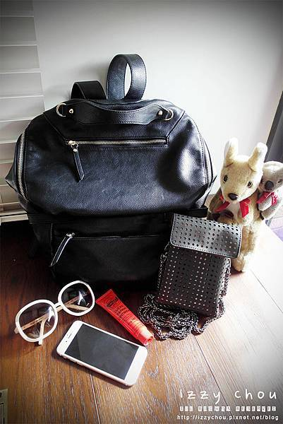 mizzue 斜背包 多way包 後背包 媽媽包 旅行隨身包