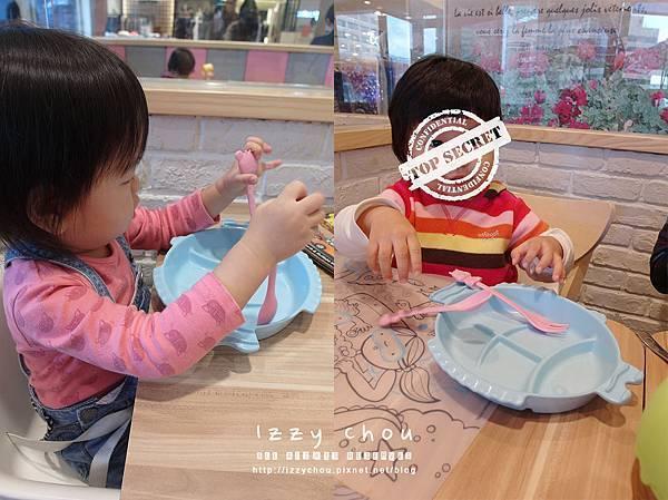 chop chop 恰恰親子餐廳 兒童餐具