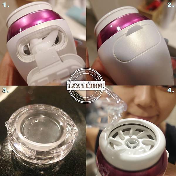 Panasonic濃密泡沫洗顏儀EH-SC50