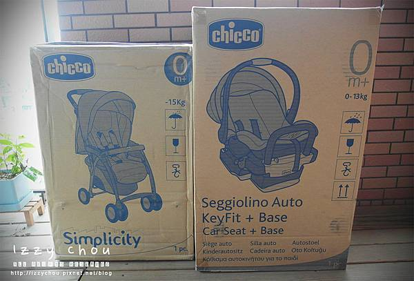 Chicco 推車+安全汽座