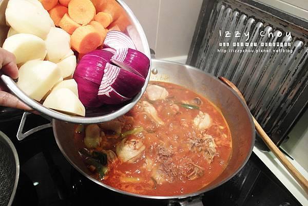 安東燉雞 韓式燉雞 食譜