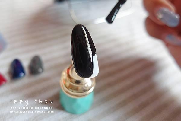 大森美甲 鑽石甲油膠 02 黑色